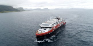The first battery-powered cruise ship sails for the Arctic