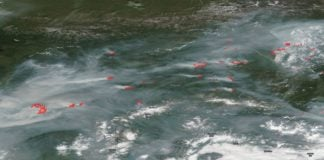A big fire season in Alaska fits the pattern across a warming Arctic