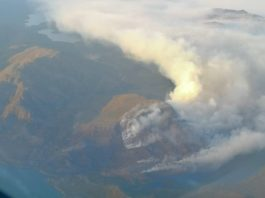 Hikers warned as Greenland wildfire burns out of control
