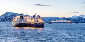 Quiet in Norwegian Arctic port as reloading of Russian Arctic LNG ends