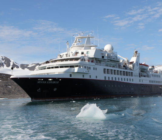 Luxury ship enters Bering Strait, starts cruise on Russia's Northern Sea Route