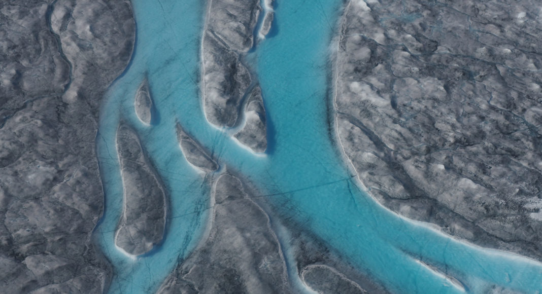 Greenland just lost more than 12 billion tons of ice in a single day