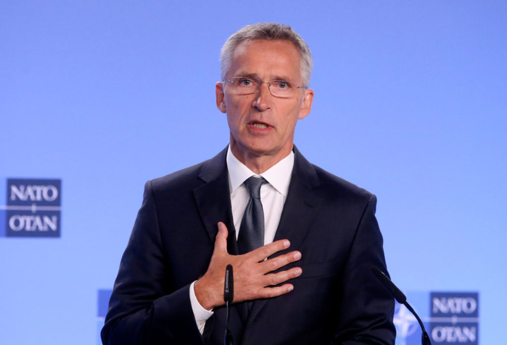 NATO's Stoltenberg cites Arctic as he argues for more alliance attention to China - Arctic Today
