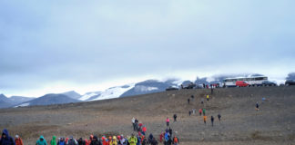 Iceland unveils a memorial plaque for the first glacier it has lost