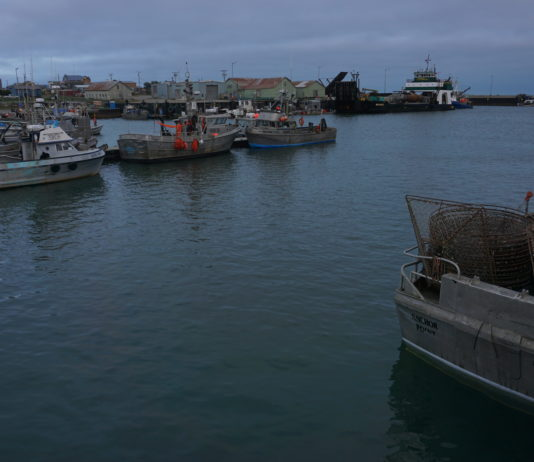 Nome's port is quieter in coronavirus summer, but ship activity continues