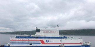 Russia's first floating nuclear power plant leaves Murmansk for the eastern Arctic