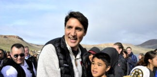 Trudeau uses Nunavut to sell reconciliation, conservation as a package deal