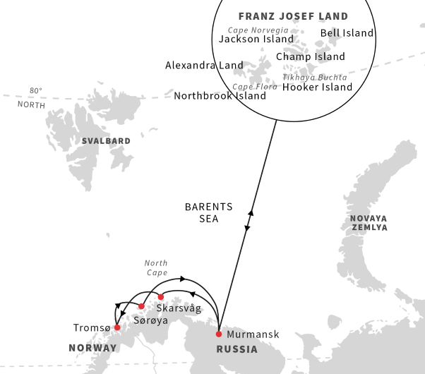 A Norwegian cruise ship is banned from sailing to Russia's Franz Josef Land - Arctic Today