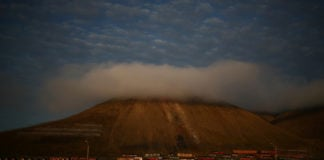 Temperatures in Svalbard hit a record high