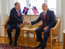In Iceland visit, Pence says China and Russia are increasingly active in the Arctic