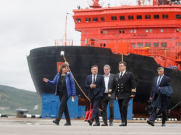 Rosatom looks to invest $7 billion to create an Arctic shipping service