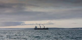 Russian Navy commandos boarded a cargo vessel on Northern Sea Route