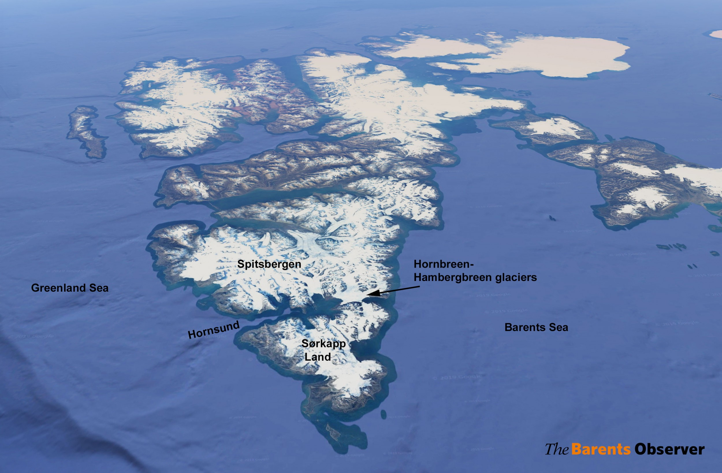 Climate change is poised to divide Norway's largest Arctic island into two - Arctic Today