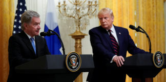 Trump, Niinistö remarks show two different visions of the Arctic