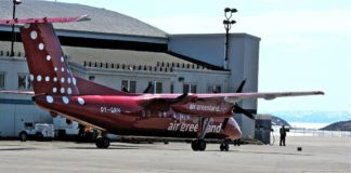 Greenland government rejects resumption of air link with Nunavut
