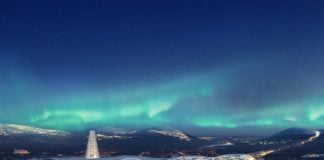A giant Christmas theme park in northern Finland aims to attract 10 million visitors to the Arctic annually