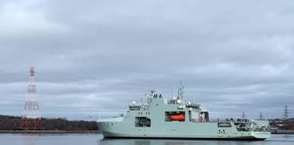 Canada's new Arctic patrol ship begins sea trials