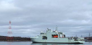 Canada's new Arctic patrol ship begins sea trials