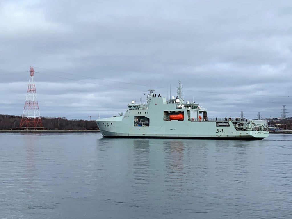 Canada's new Arctic patrol ship begins sea trials - ArcticToday