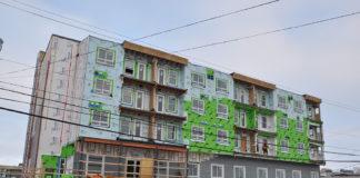 A building boom is underway in Iqaluit