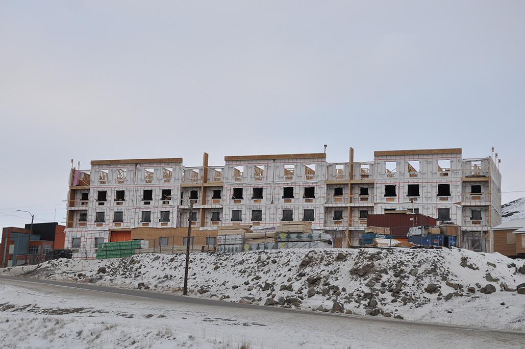 A building boom is underway in Iqaluit - ArcticToday