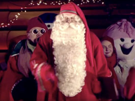 Santa declares Christmas season 'open' in Arctic Finland