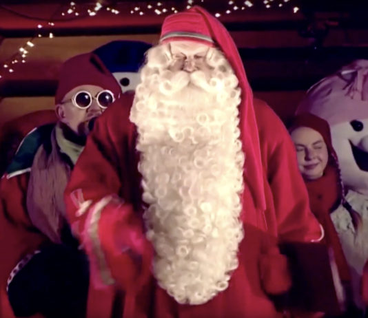 Santa declares Christmas season 'open' in Arctic Finland