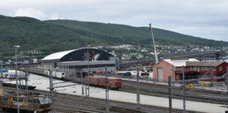 The first salmon train from Arctic Norway to China will soon be ready for departure