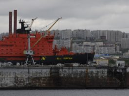 Nuclear icebreaker escorts on the Northern Sea Route went up 54 percent in 2019