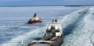 Would a Saint Lawrence Seaway model work for Bering Strait shipping?