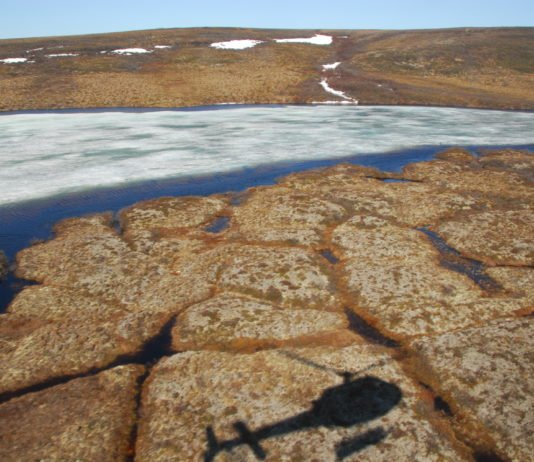 How collapsing permafrost is transforming Arctic lakes, ponds and streams