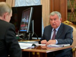 Rosneft tells Putin its new Arctic project will be biggest in global oil