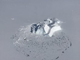 After a stronger freeze season, melting is again underway for Arctic sea ice