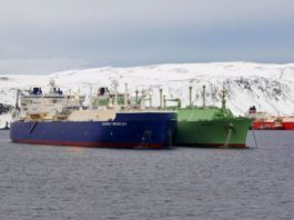 Novatek and Tschudi Group return to Norway's Honningsvåg to transfer LNG