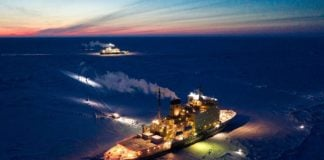 Aid is on its way to an icebreaker struggling near the North Pole