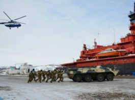 Russian National Guard takes over Arctic seaport security