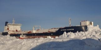 Russian Arctic shipping is up by 430 percent in 3 years