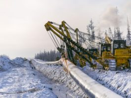 Gazprom plans to link its Arctic gas fields in Yamal to China