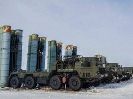 Russia activates a new S-300 air defense unit in the Arctic