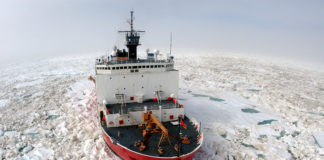 US cancels Arctic operation after an engine fire aboard the icebreaker Healy