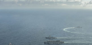 American flags in the Barents Sea are the 'new normal,' a defense analyst says