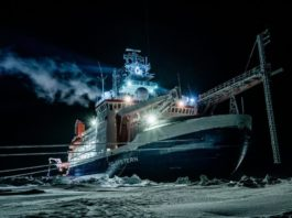MOSAiC expedition relief ships arrive in Svalbard to await the Polarstern