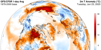 The Russian Arctic is seeing record-breaking heat, and an early start to wildfires