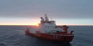 Chinese icebreaker sails to North Pole, explores remote Arctic ridge