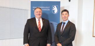 In Copenhagen meeting, Pompeo talks up renewed US-Greenland ties