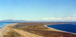 Land at a strategic Bering Strait deepwater site has been transferred to an Alaska Native corporation
