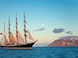 A 100-year-old sailing ship is about to embark on an historic Arctic voyage