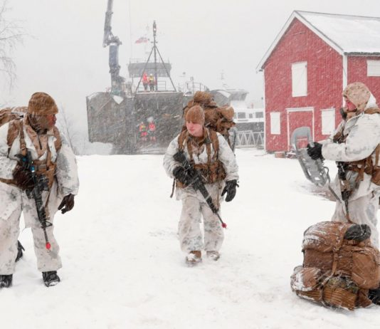 Most US Marines based in Norway will leave this fall