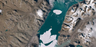 Huge ice block breaks off Arctic's largest remaining ice shelf