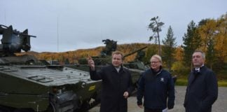 Nordic defense ministers sign landmark security deal
